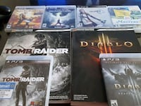 PS3 games with two cheat books.  Goose Creek, 29445