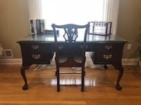 Cherry Desk with chair - looks like new! Moving! Must Sell! Freehold, 07728