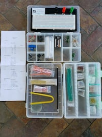 Electronics learning project kit
