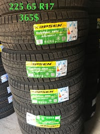 225/65/17 high quality winter tire  Richmond Hill, L4C 2V9
