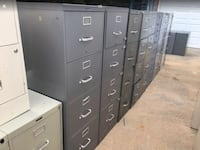 "4-Drawer File Cabinets, ""Gray Color ONLY""  Lake Wylie, 29710"