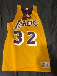 Mitchell & ness Lakers magic Johnson  New Orleans, 70124