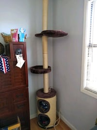 Floor to ceiling cat tower San Diego, 92107