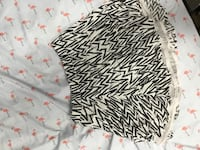 black and white zebra print skirt Gatineau, J8T 8C7