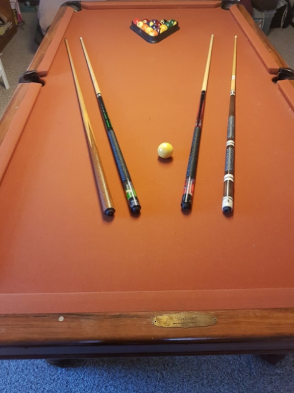 Brunswick Used Pool Tables >> Beautiful And Classy Vintage By Brunswick Used Pool Table 8 X 4ft
