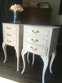 Delivery - stunning pair of antique French country night stands  Toronto, M9B 3C6