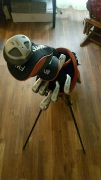 Golf clubs everything you see $45 San Antonio, 78223