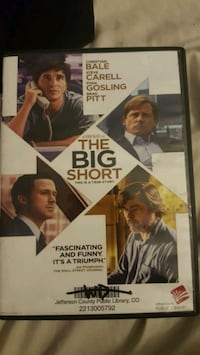 DVD- The Big Short Arvada, 80004