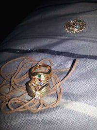 2 rings size 7&71/2 Bridgeport, 62417