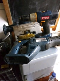 Ryobi Drill and saw used but work fine! Vallejo