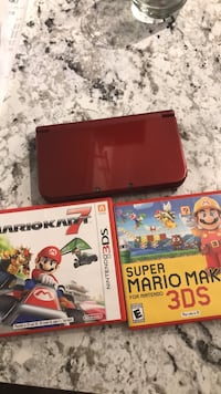 Nintento 3DS XL + 2 games 1072 mi