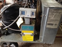 1hp walk-in cooler compressor  Brampton, L6S