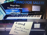 Rieger Kloss Piano for Sale!