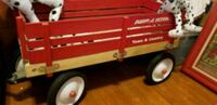 red and white Radio Flyer pull wagon Milwaukee, 53208