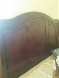 Wood headboard queen