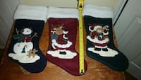 3 Christmas Stockings McAllen