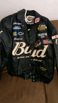 NEW...budweiser nascar jacket paid $400.00 asking  Kitchener