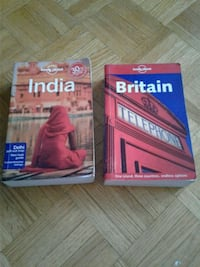 Lonely Planet India and Britain Guide Books Toronto, M4T 1N6