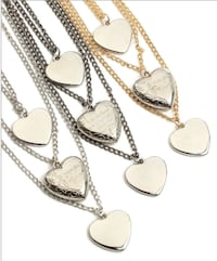 Brand New 3 Layer Heat Necklace null