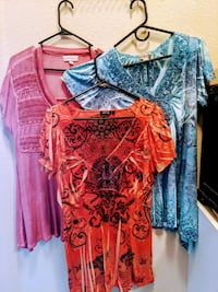 Women's unity tops set of three Las Vegas, 89178
