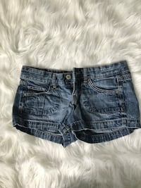 women's blue denim shorts Freeport, 61032