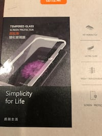 iPhone screen protector / Tempered Glass
