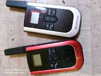 Brookstone long range walkie talkies and individualized channel set