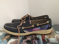 pair of black-and-blue loafers Bedford, B4A 3B3