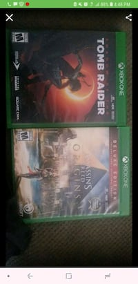 New tomb raider game and assassins creed  Washington, 20032