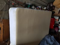 A year old box spring great condition queen size