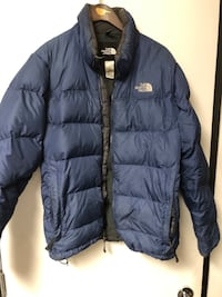 The Northface 550 men's down jacket sz M