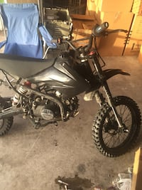 black and gray motocross dirt bike Houston, 77053