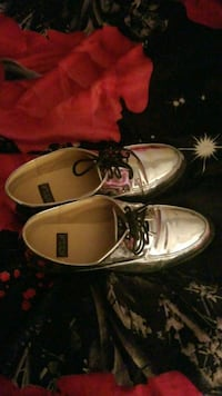 pair of brown leather boat shoes Bladensburg, 20710