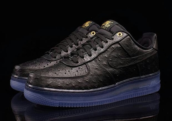promo code 15c46 6263b NIKE AF1s Low Ostrich Leather men women