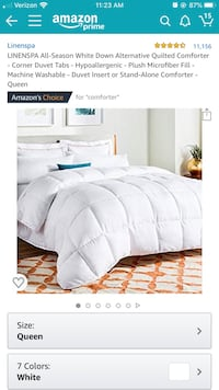 Comforter insert, queen, BRAND NEW Pittsburgh, 15222