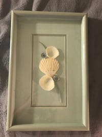 Seashell picture and frame 15x10 Germanton, 27019