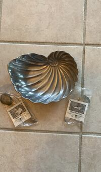 Shell Pewter Plate