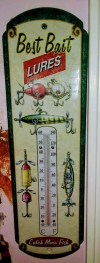 Collectible best bait lures outdoor thermometer Fort Walton Beach, 32547