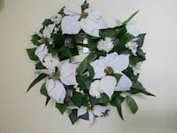 white and green floral wreath Kitchener, N2E 2K1