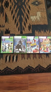 4 Xbox360 games  North Vancouver, V7G 2P4