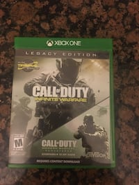 Call of duty has two games  Syracuse, 84075