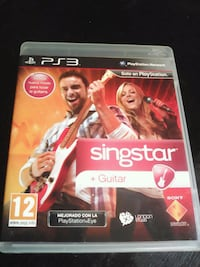 PS3 SingStar guitar