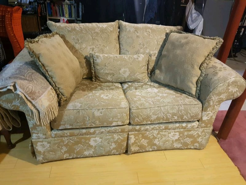 Love seat and sofa  3