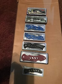 Collection of seven knives