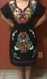 NEW BLACK MEXICAN DRESS  Pharr, 78577