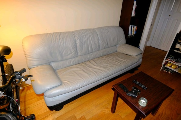 Italian Leather Couch