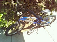 blue and white BMX bike Bakersfield, 93307