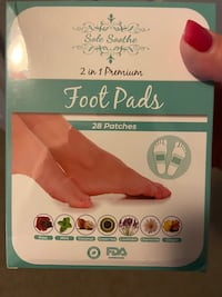 Soothe foot pads