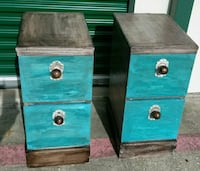 Pair of night stands or side tables Fort Worth, 76134