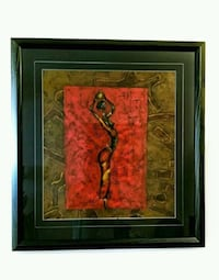 Original Abstract painting of an African Women Toronto, M6M 1T1